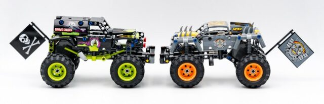 LEGO Technic 2021 Monster Jam 42118 42119