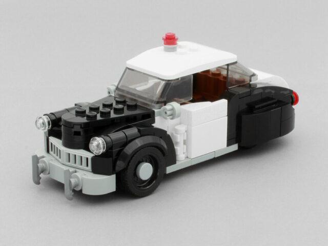 LEGO vintage police car