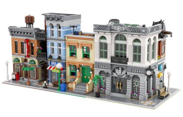 Modular LEGO Ideas 21324 123 Sesame Street