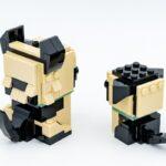 REVIEW LEGO BrickHeadz 40440 German Shepherd
