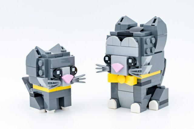 REVIEW LEGO BrickHeadz 40441 Shorthair Cats