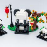 REVIEW LEGO BrickHeadz 40466 Chinese New Year Pandas