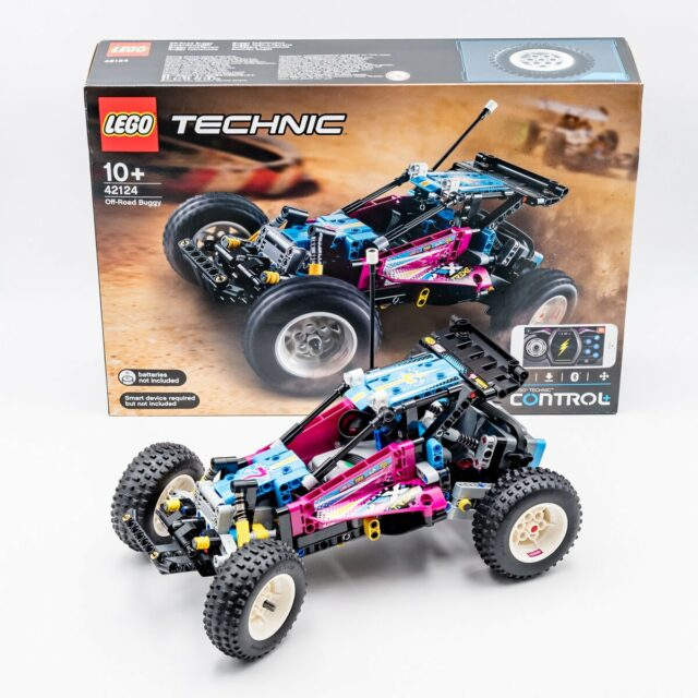 REVIEW LEGO Technic 42124 Off-Road Buggy
