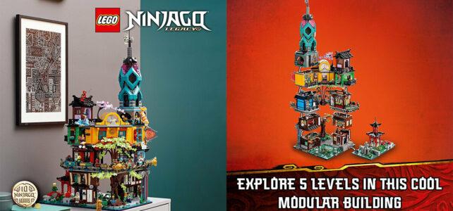 LEGO 71741 Ninjago City Gardens : de nouveaux visuels officiels
