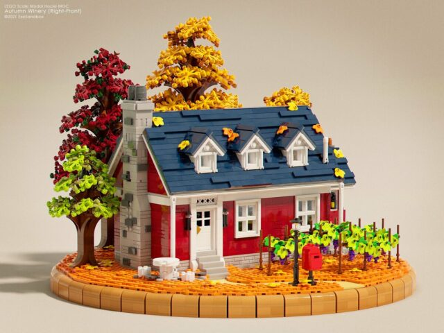 LEGO Autumn Winery