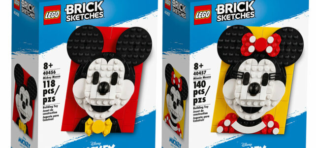 LEGO Brick Sketches Mickey Minnie Mouse