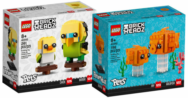 LEGO BrickHeadz Pets 40442 40443
