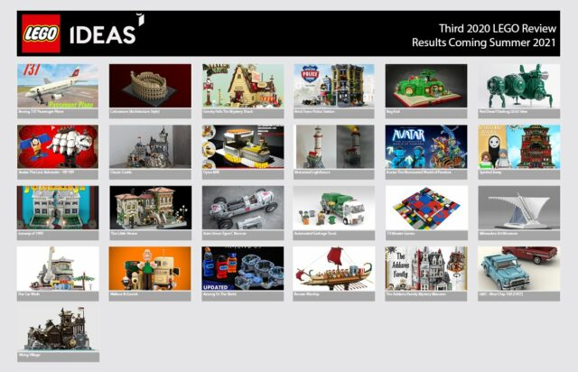 LEGO Ideas 2020 3rd review