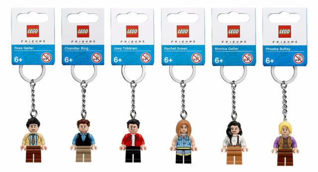 LEGO Ideas Friends TV series keyrings