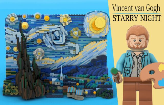 LEGO Ideas Starring Night Van Gogh