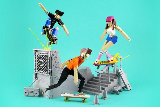 LEGO MOC skateboards