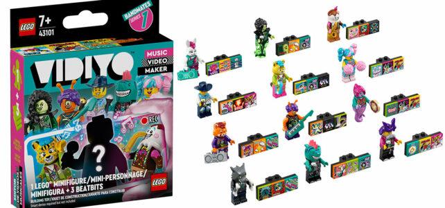 LEGO VIDIYO 43101 Bandmates : 12 personnages à collectionner, et la fin du tâtage !