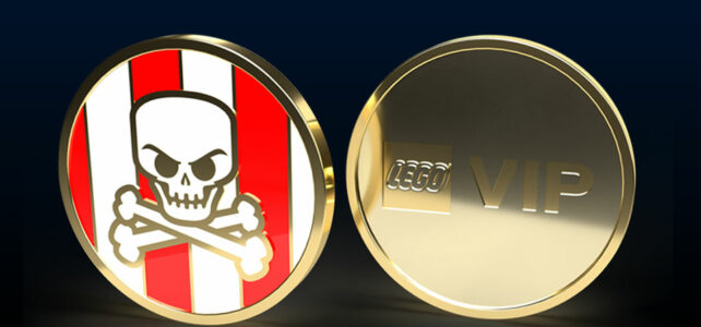 LEGO VIP Pirate coin