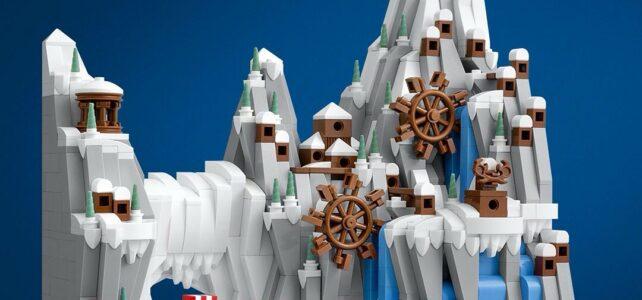 LEGO Vikings micro village
