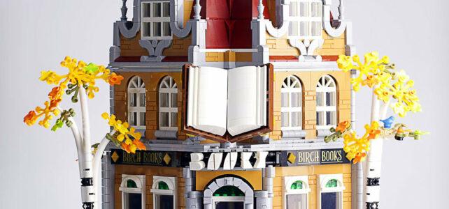 MOD Modular LEGO 10270 Bookshop XL