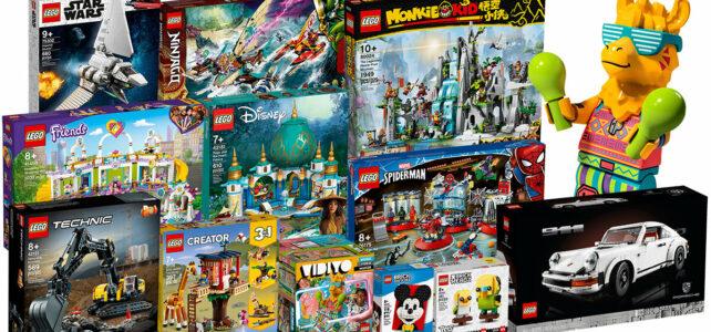 Nouveautés LEGO mars 2021