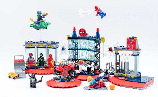 REVIEW LEGO Spider-Man 76175 Attack on the Spider Lair
