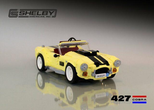 AC Shelby Cobra OSM LEGO 10271 Fiat 500