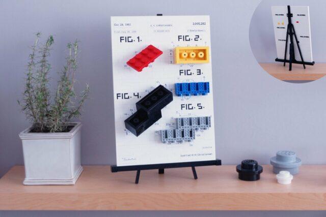 Brevet brique LEGO brick patent