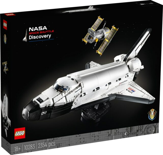 LEGO 10283 NASA Discovery Space Shuttle