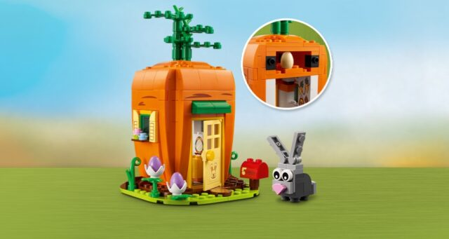 LEGO 40449 Easter Carrot House
