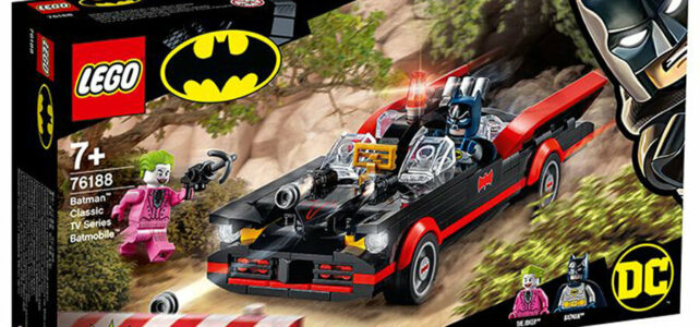 LEGO 76188 Batman Classic TV Series Batmobile