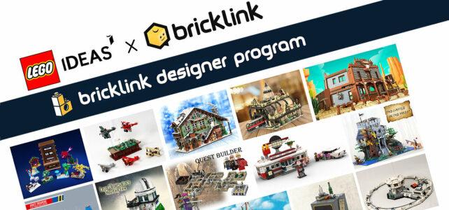 LEGO Ideas Bricklink Designer Program cover