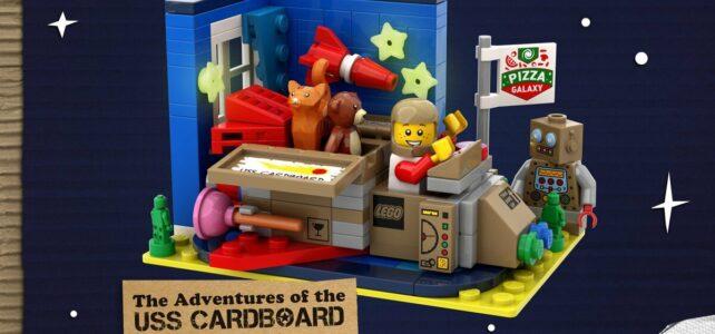 LEGO Ideas The Adventures of the USS Cardboard