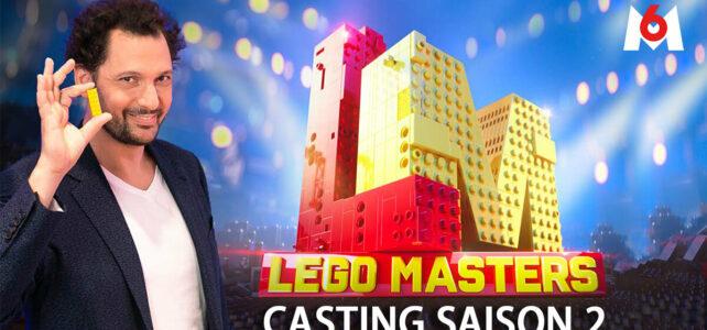 LEGO Masters France saison 2 casting M6