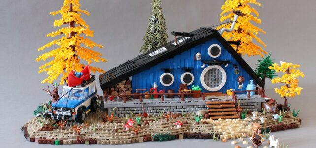 LEGO Norton74 Blue Cottage