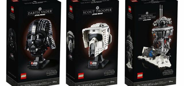 LEGO Star Wars 2021 75304 75305 75306