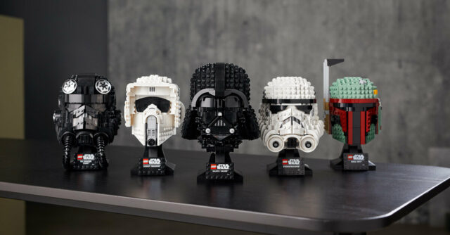 LEGO Star Wars Helmets collection