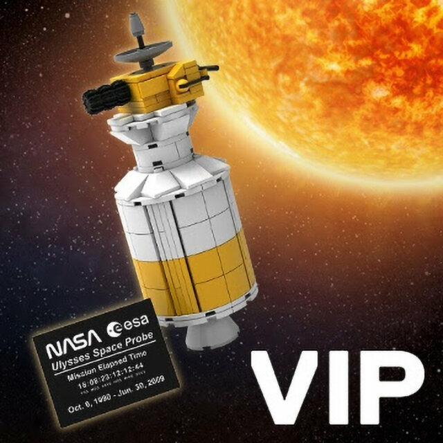 LEGO VIP Reward Ulysses Space Probe