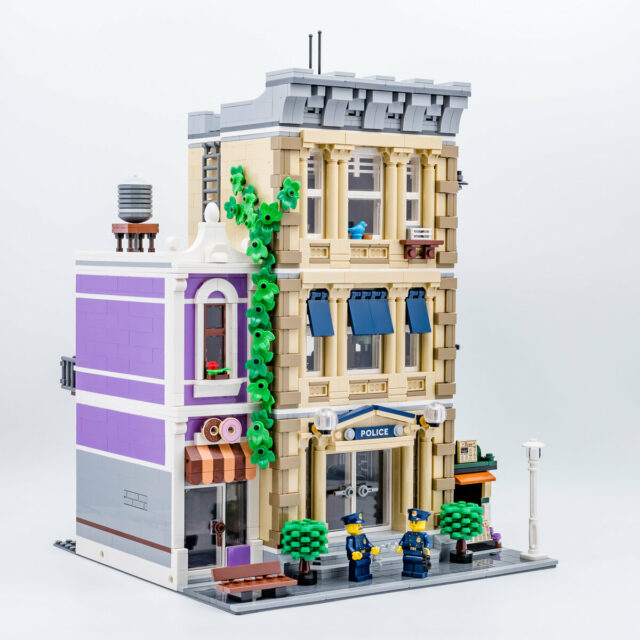 REVIEW LEGO 10278 Police Station Modular