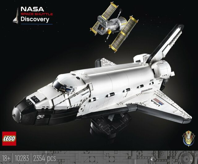 LEGO 10283 NASA Navette Spatiale Discovery