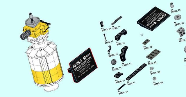 LEGO 5006744 Ulysses Satellite instructions