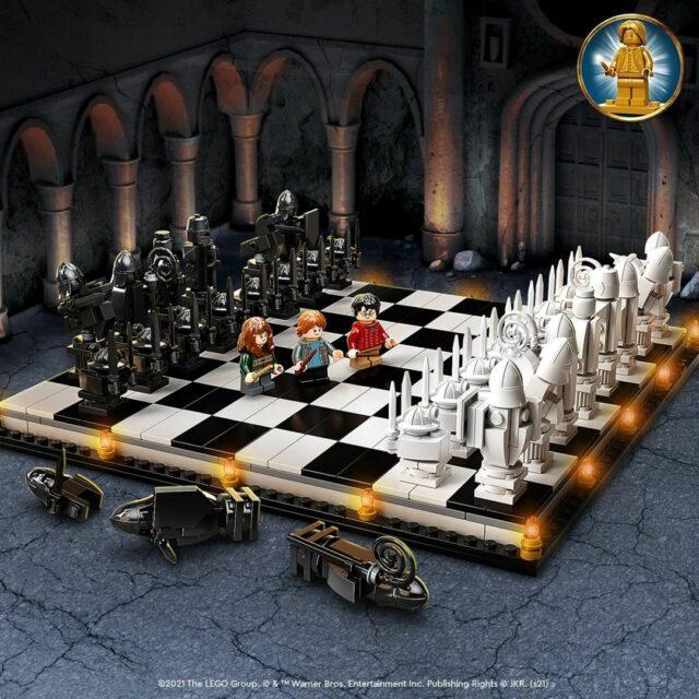 LEGO 76392 Hogwarts Wizard's Chess