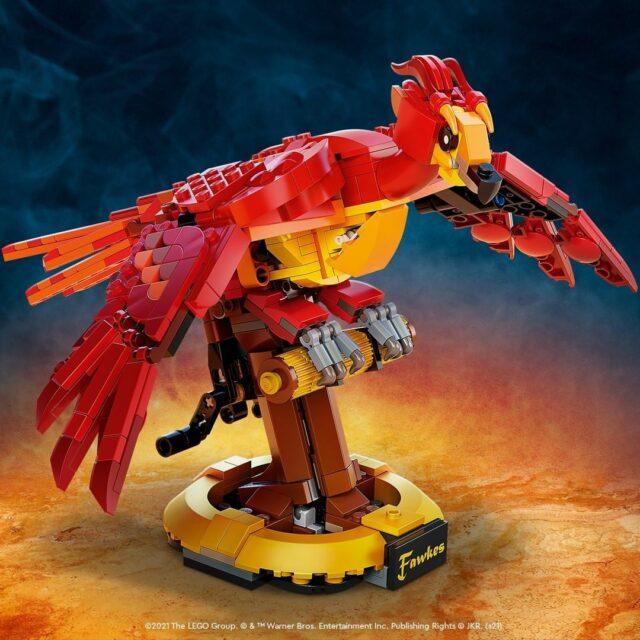 LEGO 76394 Fawkes, Dumbledore's Phoenix