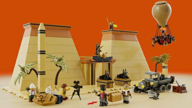 LEGO Adventurers Legacy 5988