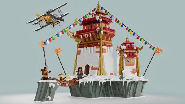 LEGO Adventurers Legacy 7417