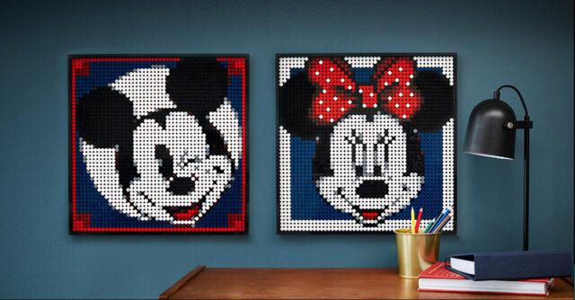 LEGO Art 31202 Mickey Mouse alt