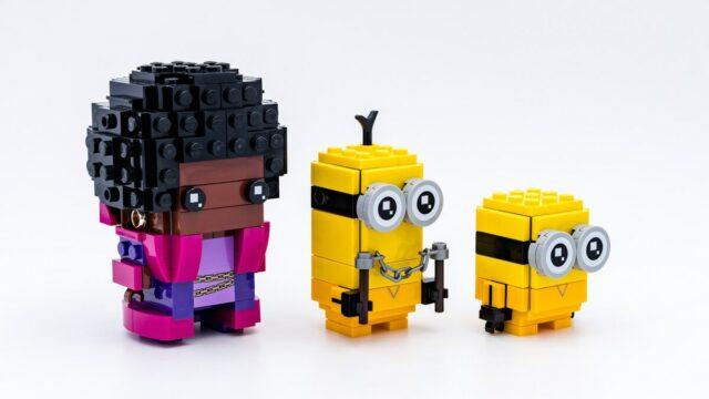 REVIEW LEGO BrickHeadz Minions 40421