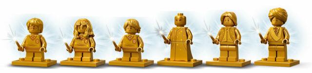 LEGO Golden Harry Potter minifigures