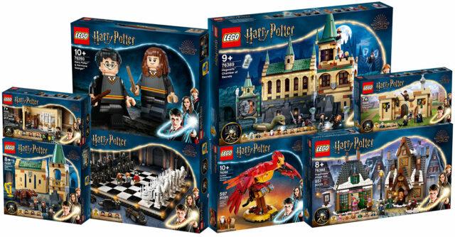 LEGO Harry Potter 2021 sets