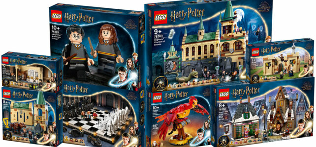 LEGO Harry Potter 2021 sets