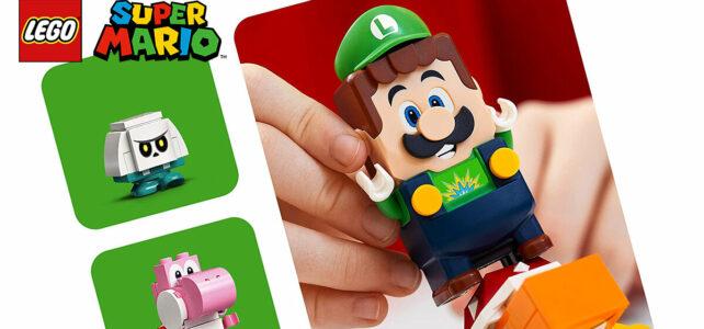 Nouveauté LEGO Super Mario 2021 : Luigi arrive en précommande !