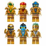 LEGO Ninjago Legacy Golden Ninjas 2021