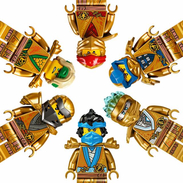 LEGO Ninjago Legacy Golden Ninjas