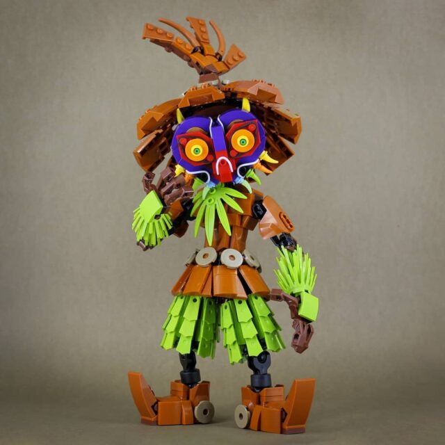 LEGO Skull Kid Zelda Majoras Mask