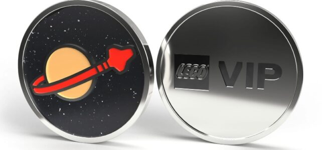 LEGO VIP Classic Space coin